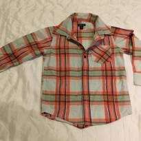 Camisa Social Xadrez - 3 anos - Baby Gap