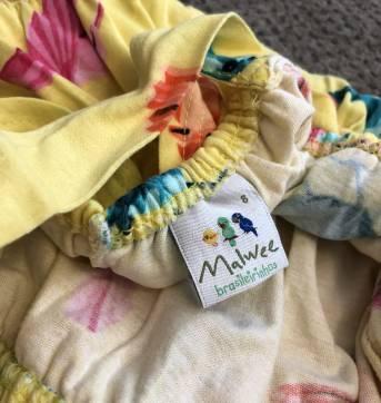 Vestido Longo Amarelo MALWEE - 8 anos - Malwee