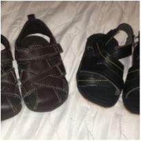 2 sandálias = 1 preço - 18 - Não informada