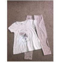 Blusa + legging Oncinha - 6 anos - Tip Top
