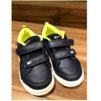 Tênis Infantil Nike Pico Lt Masculino - Azul escuro e verde - 25 - Nike