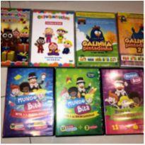 7 DVDs -  - Não informada
