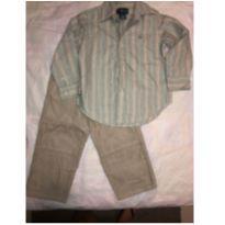 camisa Social Ralph Lauren + calça - 3 anos - Ralph Lauren
