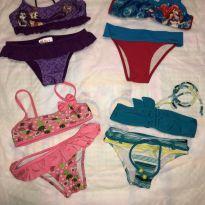 4 Bikinis = 1 preço - 6 anos - Não informada