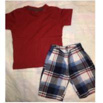 Camiseta verme + bermuda - 4 anos - Renner e Thomas & Friends - USA