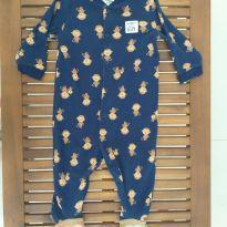 Macacão infantil macaquinhos Carter`s - 3 a 6 meses - Carter`s