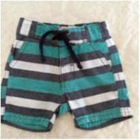 Short jeans - 0 a 3 meses - baby Demim