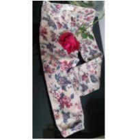 Calça Zara floral - 2 anos - Zara