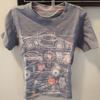 Camiseta Carters com carro de corrida - 2 anos - Carter`s