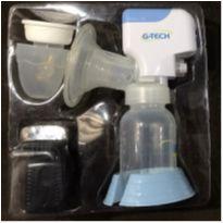 Bomba Tira-leite Materno Elétrica Compact G-tech + 3 Recipientes -  - G-TECH